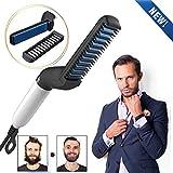 Charminer Lisseur Barbe et Cheveux Homme Multifonctionnel,Rapide Lisseur de Barbe...