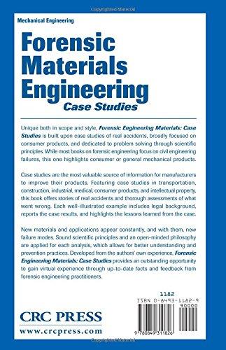 Forensic Materials Engineering: Case Studies