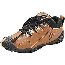 ALEX Boys Brown Sneakers