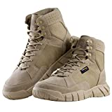 "Free soldier Men's Boots Ultralight Military Tactical Work Boots 6"" Inch high-tops Lace"