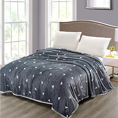 Ropa de cama de patrón blanco gris Sherpa Manta para niños Manta...
