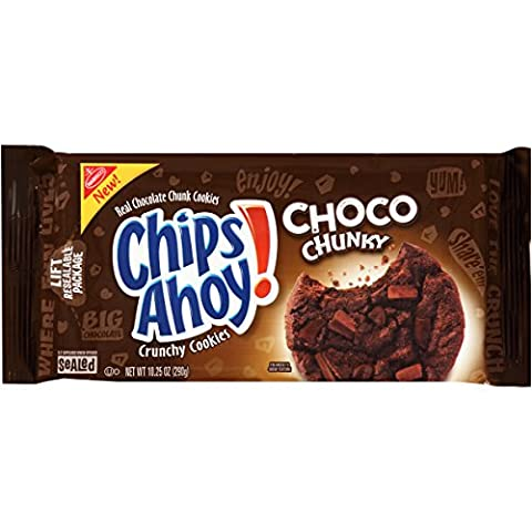 Chips Ahoy Choco Chunky Chocolate Chunk Cookies (291g)