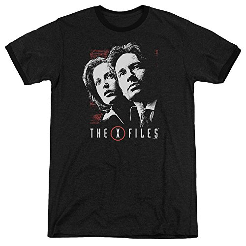 the-x-files-t-shirt-manches-courtes-opaque-homme-noir-noir-noir-xx-large