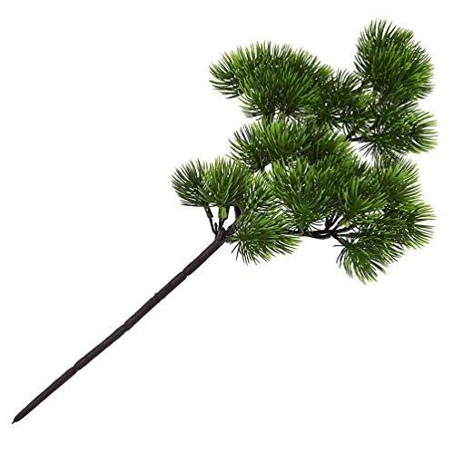 Kesheng 1x Künstlich Zypresse Sichuan-Lebensbaum Kunstbaum Miniatur Dekoration