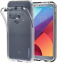 Funda LG G6, iVoler Ultra Transparente LG G6 Carcasa Funda Suave Flexible Extremadamente Delgada piel Resistente a los Arañazos silicona TPU protectora para LG G6