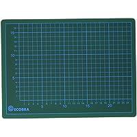 Ecobra 22903082 - Base de corte con plantilla (30x22 cm), verde