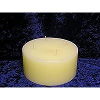 Kerze Vierdocht Durchmesser 150mm Höhe 70mm