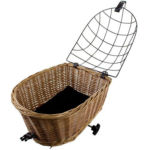 m wave panier pour chien panier en osier v lo panier pour. Black Bedroom Furniture Sets. Home Design Ideas