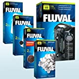 Fluval U2 Interner Aquarienfilter mit zusätzlichem Medium