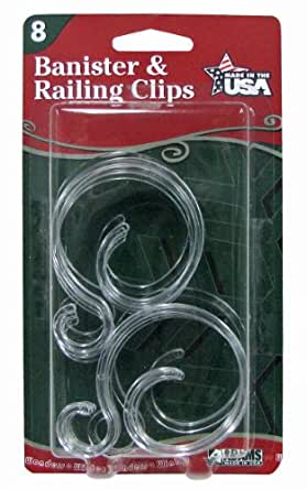 Banister Amp Railing Clips Also Fences Amp Decking Rails