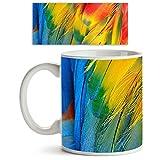 ArtzFolio Scarlet Macaw Feathers : Gloss...