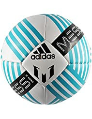 adidas Messi Glider Ball In White Blue