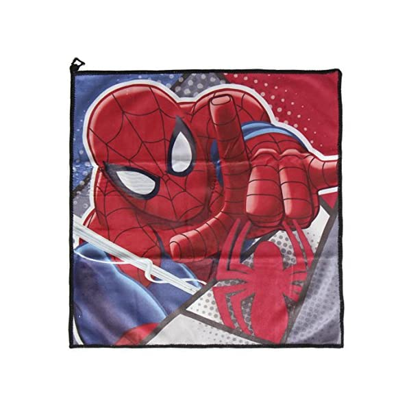 Spiderman-2500000741 Spiderman Set Neceser higiene Comedor Escuela, Uacutenica (Artesanía Cerdá 2500000741)