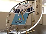 Serie A–Italienischen Fußball Shirt Desktop Uhren–Jeder Name, beliebige, jedes Team, kostenlose Personalisierung. SS Lazio