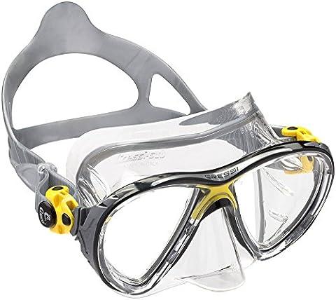 Cressi Big Eyes Evolution Crystal Scuba Diving and Snorkeling Mask