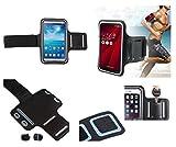 DFV mobile® - Armbandtasche Sport Armband Berufsausrüstung Wasserabweisende aus Neopren premium für=> Acer Liquid Jade Primo > Schwarz