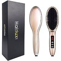 ionischer alisador de cabello Cepillo, MCH plancha eléctrica alisado con plancha alisadora de cerámica y temperatura.