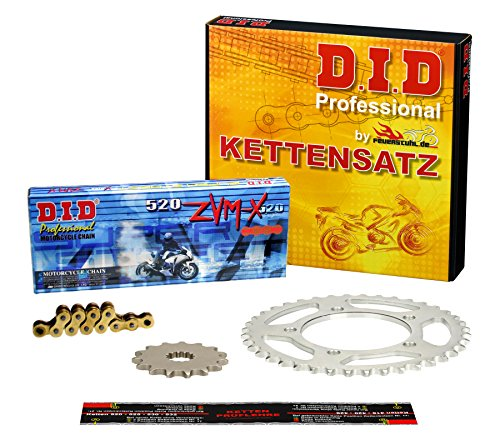 Kettensatz für Yamaha XJ6 S Diversion, 2009-2013, RJ19, RJ22, DID X-Ring (ZVM-X gold) super verstärkt