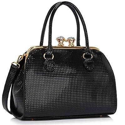 Ladies Handbags Womens Designer Bags Celebrity Faux Leather Patent Tote Bag