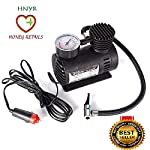HNYR AIR Pump/TYRE INFLATOR for CAR, Bike, Football & Volleyball