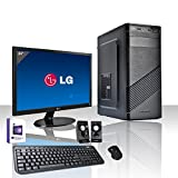 "PC DESKTOP INTEL QUAD CORE LICENZA WINDOWS 10 PROFESSIONAL ORIGINALE/WIFI/HD 1TB SATA III/RAM 8GB 1600MHZ,AUDIO, VIDEO/MONITOR 24"" LED FULL HD HDMI VGA DVI/TASTIERA E MOUSE USB/PC FISSO COMPLETO"