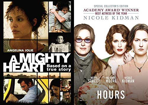 More Dramarama Than Your Momma- The Hours & A Mighty Heart DVD Double Feature Bundle