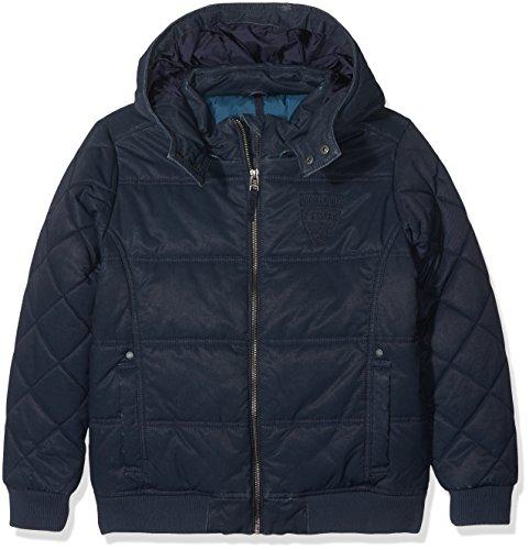 s.Oliver Jungen 62.709.51.2316 Jacke, Blau (Dark Blue 5874), 164 (Herstellergröße: L) Junior Fashion Denim Jacke