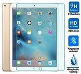 All-New iPad 9.7 2017 pellicola Protettiva, KuGi ® All-New iPad 9.7 2017 pellicola Protettiva screen protector - L'alta qualità protezione dello schermo 9H durezza HD chiaro, vetro temperato per All-New iPad 9.7 2017 Tablet. (1 confezione) immagine