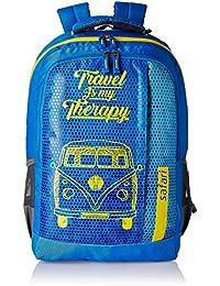 Safari 32 Ltrs Blue Casual Backpack (TravelBug Blue)