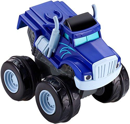 Blaze cgk24 fisher-price crusher schiaccia e sfreccia veicolo, blu