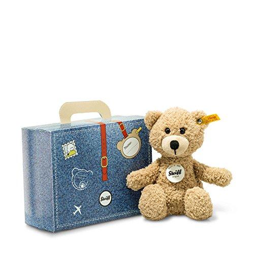 Steiff-114014-Sunny-Teddy-Bear-in-Suitcase-Beige