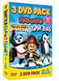 Tappy Toes/Puss in Boots/Chop Kick Panda [3 DVDs] [UK Import]