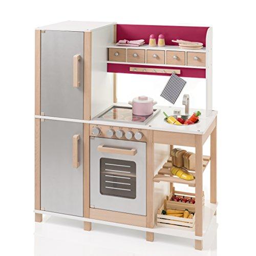 Preisvergleich Produktbild SUN Kinderküche Natur-Beere aus Holz