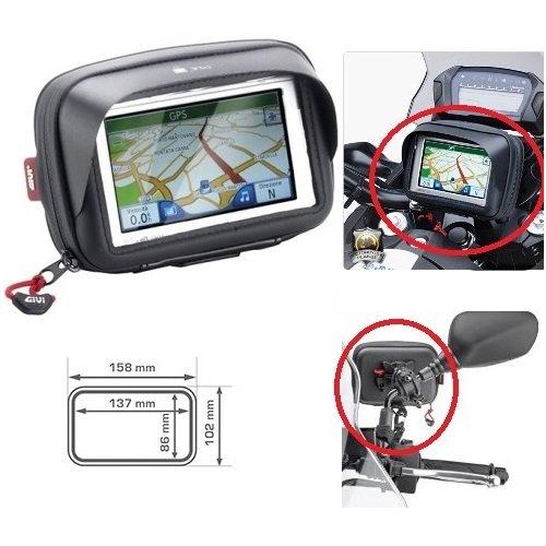 Komu X1 PORTA GPS SMARTPHONE TELEFONO CELLULARE S954B GIVI TOUCH UNIVERSALE DA MANUBRIO O PER SPECCHIETTO