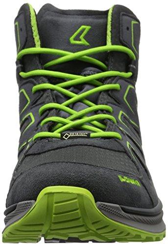 Lowa Innox Evo Gtx Qc, Chaussures de Trekking et Randonnée Homme Gris (Graphit/limone)