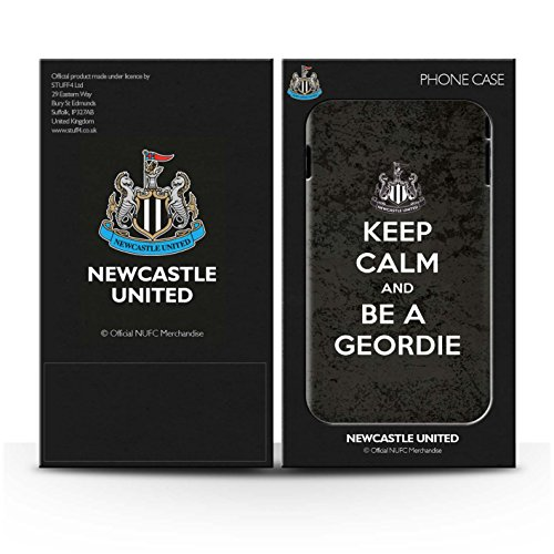 Offiziell Newcastle United FC Hülle / Matte Snap-On Case für Apple iPhone 6+/Plus 5.5 / Geordie Muster / NUFC Keep Calm Kollektion Geordie