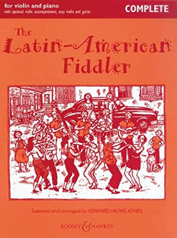 The Latin-American fiddler +CD (Nouvellle édition) --- Violon / Piano