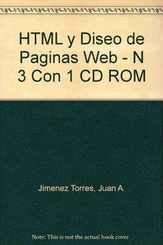 Html Y Diseño De Paginas Web por Juan.A Jimenez Torres