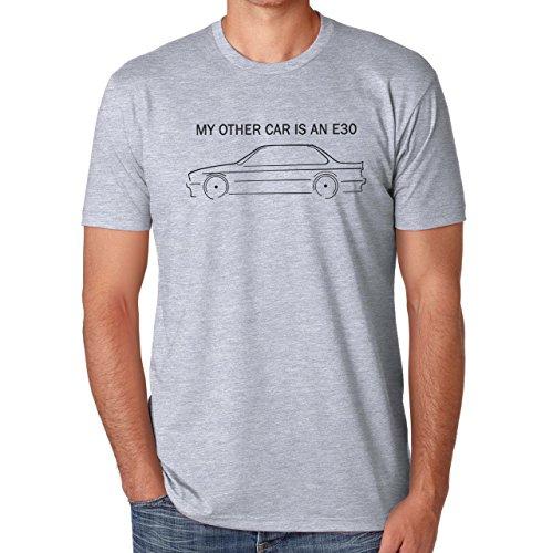 My Other Car Is An e30 Herren T-Shirt Grau