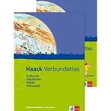 Haack Verbundatlas / Ausgabe für Hamburg und Schleswig-Holstein: Erdkunde, Geschichte, Politik, Wirtschaft. Mit Arbeitsheft Kartenlesen mit Atlasführerschein