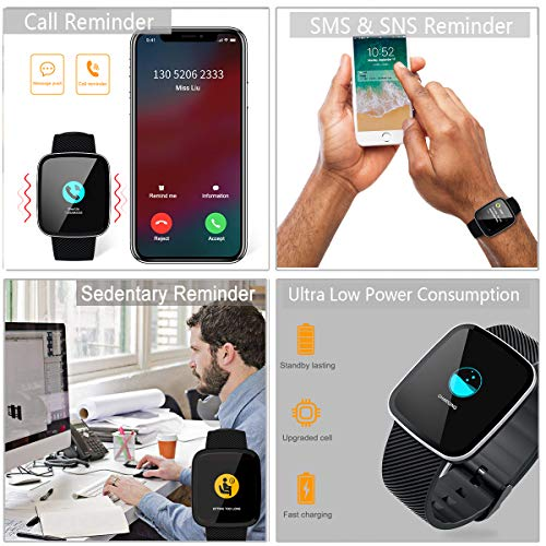 Zoom IMG-3 orologio fitness tracker smartwatch sport