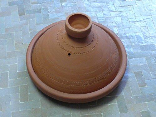 Marokkanische Tajine Kochen/Servieren unglasiert Ø 20 cm für 1 Person – 905703-0005