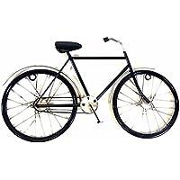 Nueva imagen o escultura contemporánea del arte de la pared del metal - Pequeña bicicleta negra