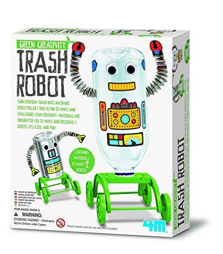 4M- Green Science Robot Reciclado, (GG4197)