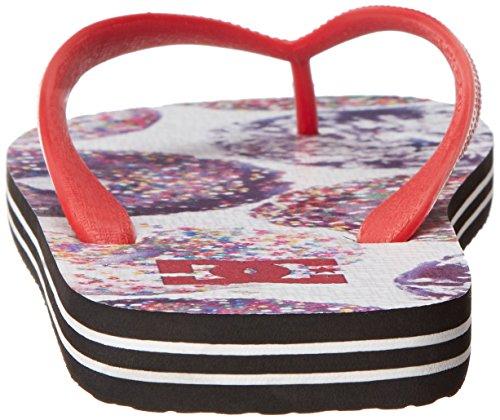 DC Shoes SPRAY GRAFFIK D0303276 Herren Zehentrenner athletic red/oyster