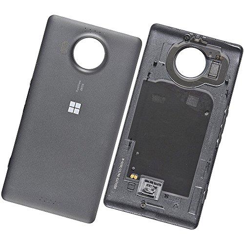 Microsoft Lumia 950 XL / Dual Sim Original Akkudeckel Schwarz Battery Cover Black Akkufachdeckel Deckel Klappe
