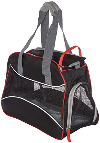costdot 5084Airline Approved Komfort Dog Travel Carrier Pet Tote, Deluxe (Pet Carrier Deluxe)