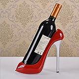 DW&HX Adornos de resina creative botelleros hogar accesorios del vino en tacones vino regalos de regalo la decoración gabinete-A