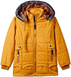 Fort Collins Girls' Regular Fit Jacket (69152_Mustard_28 (8 - 9 years))