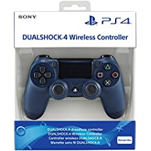 Control Pad Wireless DUALSHOCK 4 Officiel Midnight Blue V2 - PS4 : Playstation 4 , ML